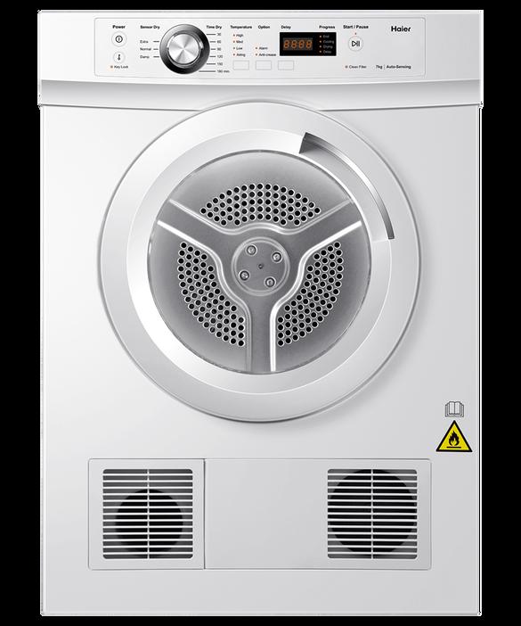 Sensor Vented Dryer, 7kg, pdp