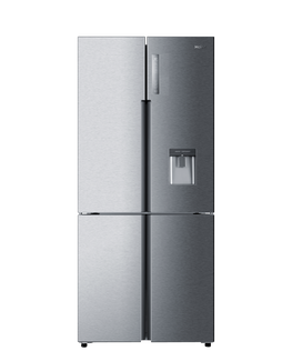 Quad Door Refrigerator Freezer, 84cm, 565L, Water