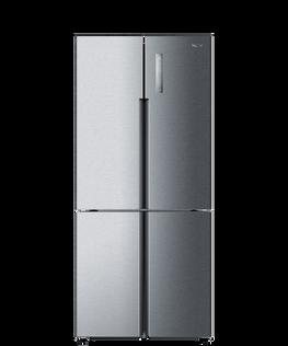 Quad Door Refrigerator Freezer, 79cm, 514L