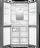 Quad Door Refrigerator Freezer, 84cm, 466L, Water gallery image 2.0