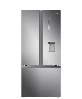French Door Refrigerator Freezer, 79cm, 514L, Water