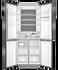 Quad Door Refrigerator Freezer, 84cm, 514L, Water gallery image 2.0