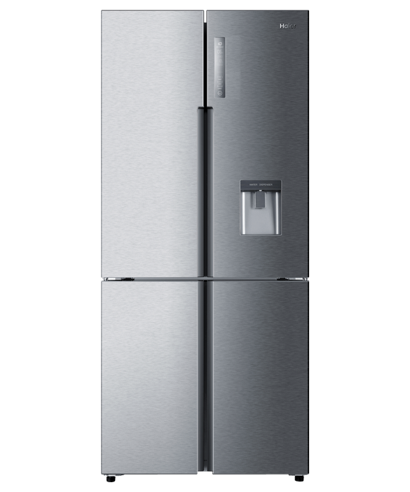 Quad Door Refrigerator Freezer, 84cm, 466L, Water, pdp